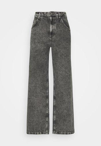 TIZANIE - Straight leg jeans - bleached grey