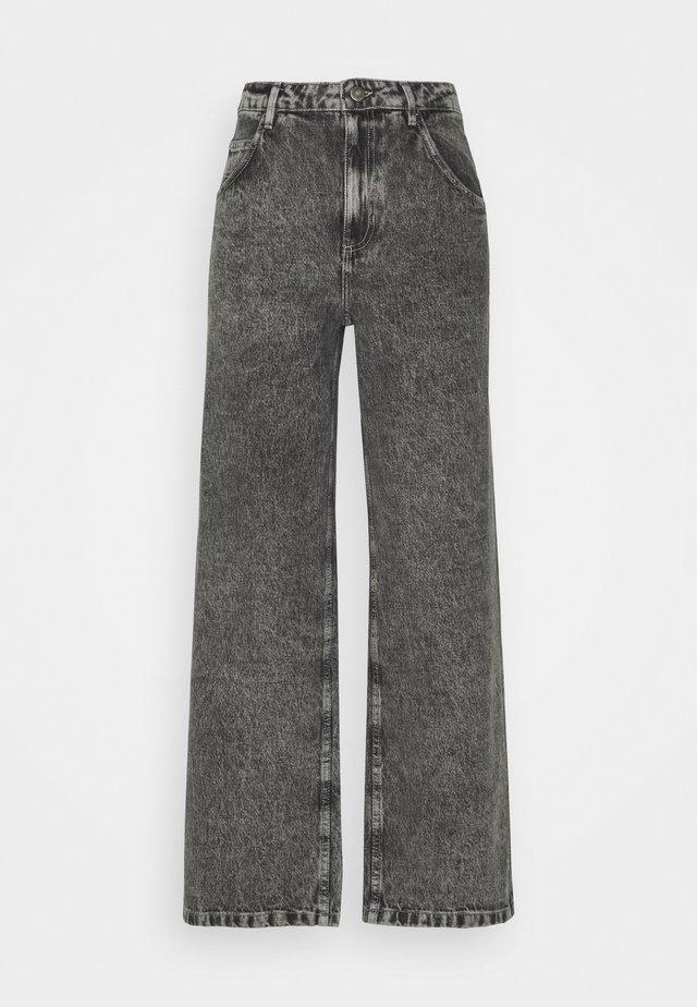 TIZANIE - Jeans straight leg - bleached grey