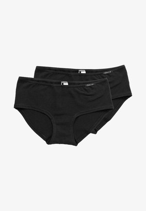 DAMEN PANTY 2ER PACK - Pants - black