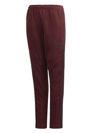 TIRO 19 FRENCH TERRY TRACKSUIT BOTTOMS - Pantalon de survêtement - burgundy