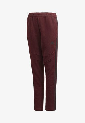 TIRO 19 PANTS - Tracksuit bottoms - burgundy