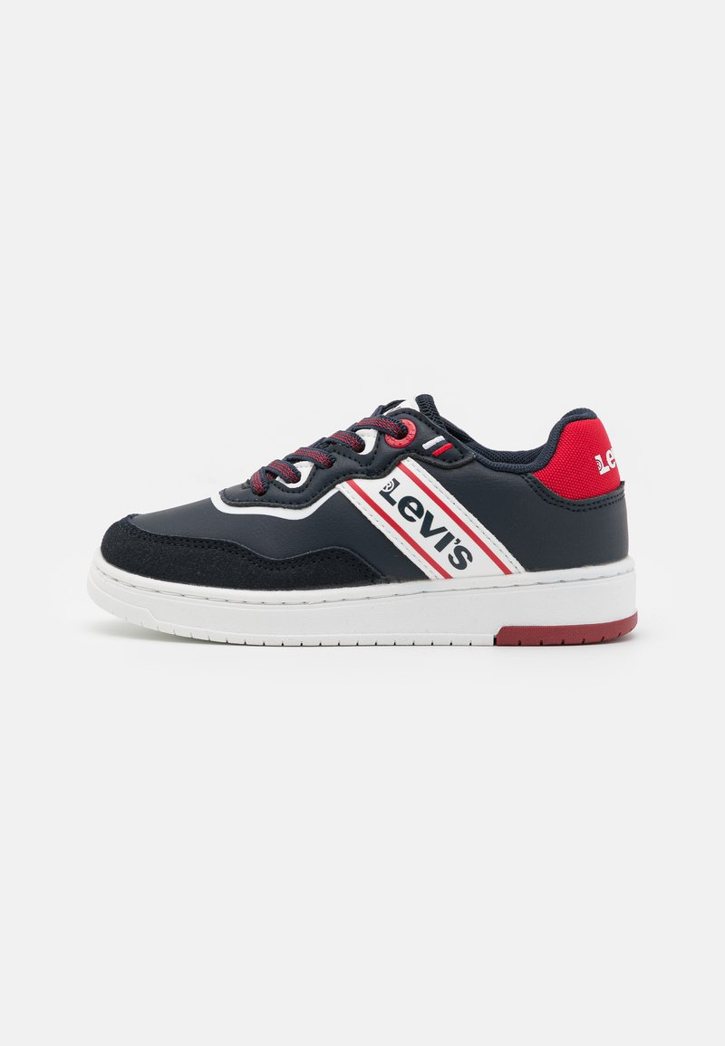 Levi's® - IRVING  - Trainers - navy/red