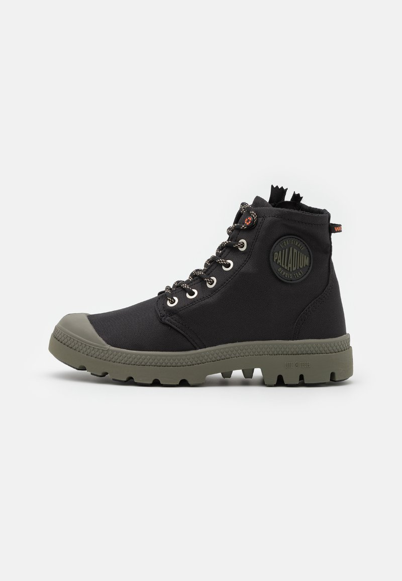 Palladium - PAMPA RCYCL LT WP UNISEX - Lace-up ankle boots - black