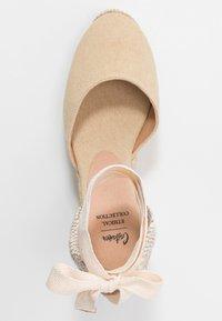 Castañer - CARINA  - High heeled sandals - natural - 3