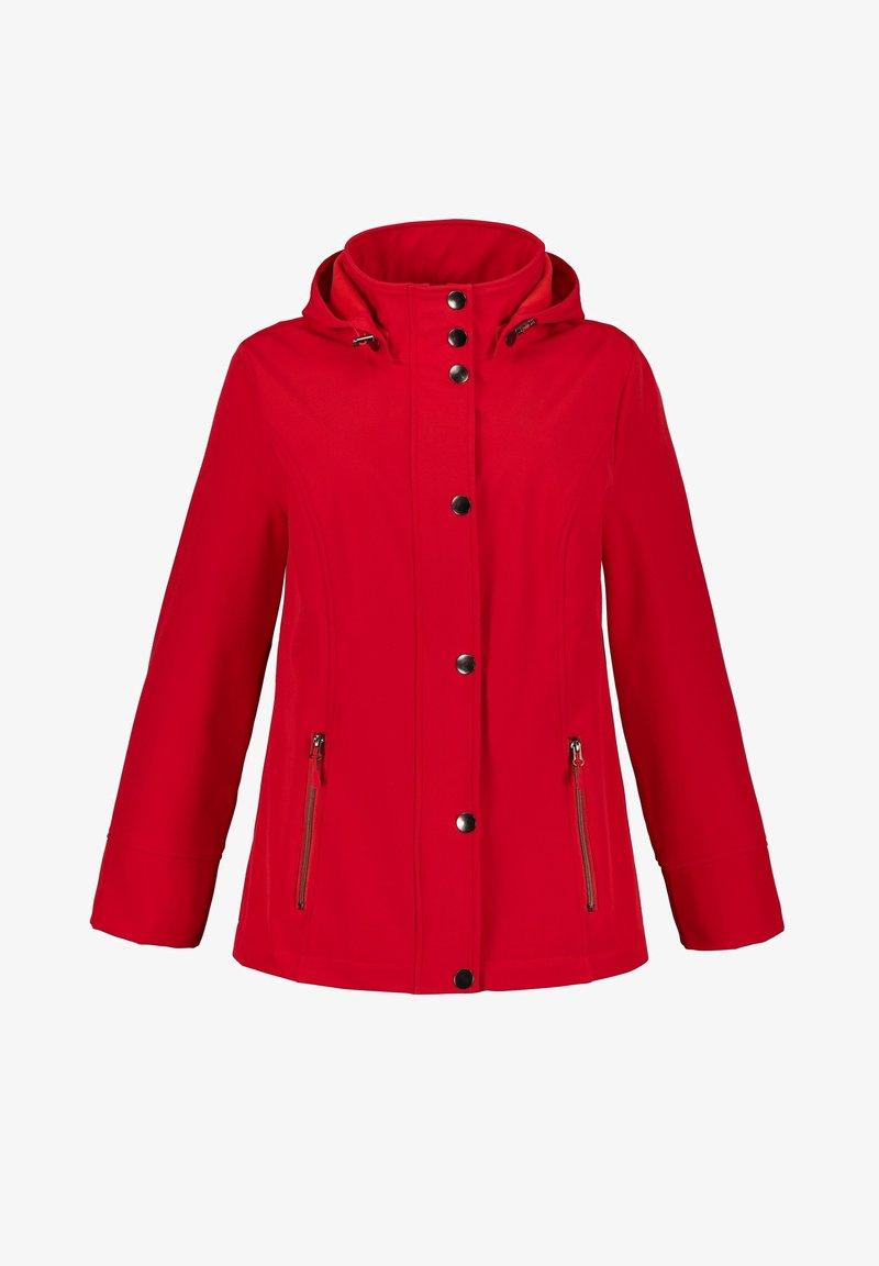 Ulla Popken - Light jacket - neon red