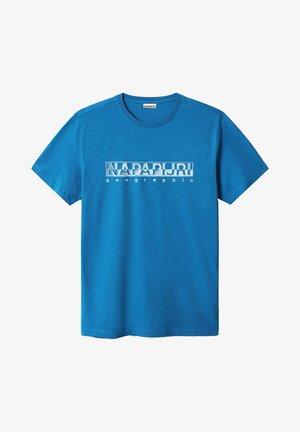SALLAR - T-shirt med print - mykonos blue
