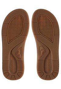 Quiksilver - LEDERSANDALEN FÜR MÄNNER AQYL100947 - T-bar sandals - brown - 2