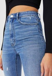 Stradivarius - Jeans Skinny Fit - light blue - 3