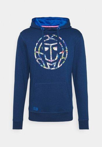 OLAN LIFESTYLE HOODY - Sweater - dark blue