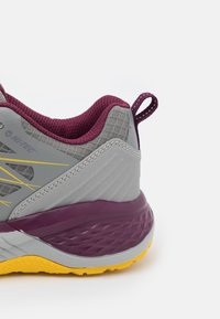 Hi-Tec - TRAIL DESTROYER WOMENS - Hiking shoes - steel/super lemon/grape wine - 5