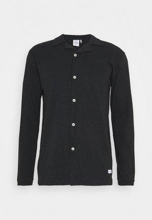 LONG SOIR - Hemd - black