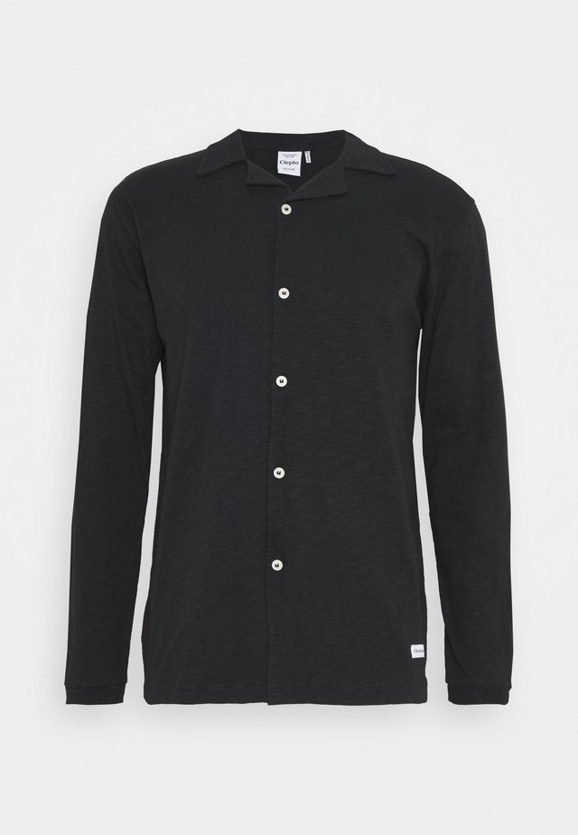 LONG SOIR - Camicia - black