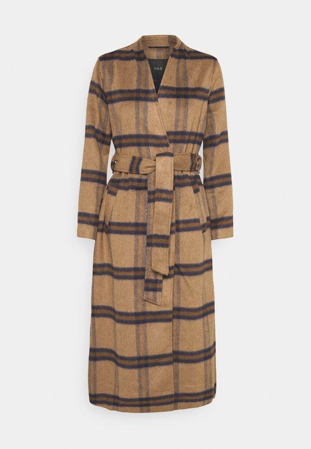 YASRUBINA COAT - Classic coat - toasted coconut