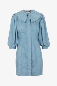 JUST FEMALE - TEXAS DRESS - Shirt dress - light blue - 5