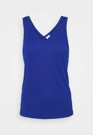 VINOEL V NECK - Topper - mazarine blue