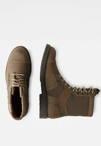G-Star - TENDRIC - Lace-up boots - light brown - 1