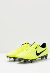 Nike Performance - PHANTOM ELITE SG-PRO AC - Screw-in stud football boots - volt/obsidian/barely volt - 2