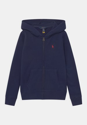 HOODIE - veste en sweat zippée - french navy