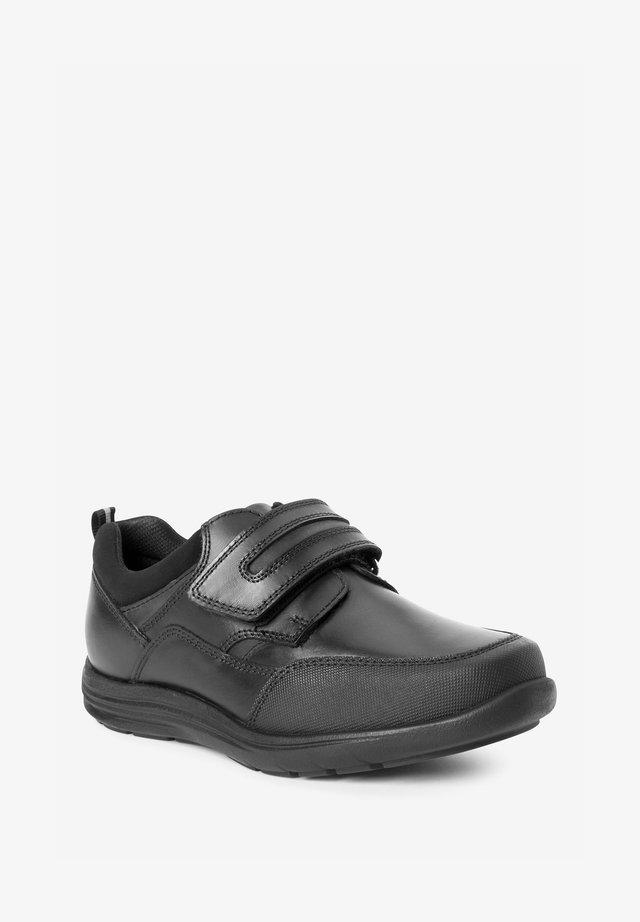 Boty se suchým zipem - mottled black