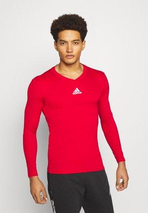 TEAM BASE TEE - Langarmshirt - red