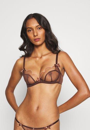 LORNA BRA - Underwired bra - chestnut/blush