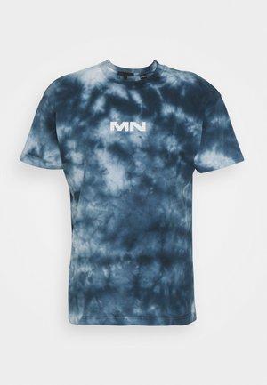 BREEZE TIE DYE REGULAR UNISEX - T-shirts med print - navy