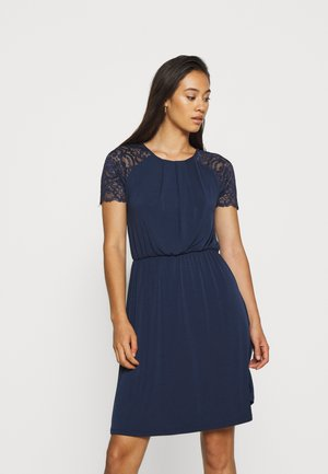 VITAINI DRESS - Jersey dress - navy blazer