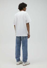 PULL&BEAR - 2PACK - OVERSIZED - T-shirt basique - white - 4