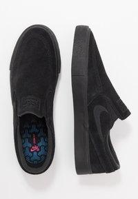 Nike SB - ZOOM JANOSKI - Slip-ons - black/photo blue/hyper pink - 1