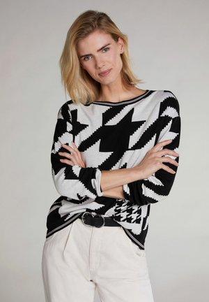 Sweatshirt - black/offwhite