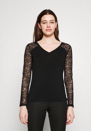 THEA - Langarmshirt - black