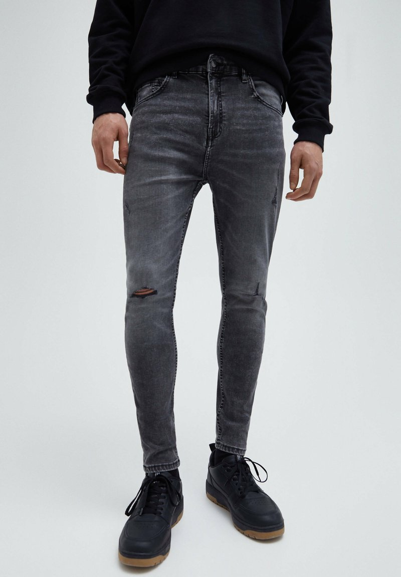PULL&BEAR - Slim fit jeans - grey