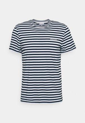 T-shirt med print - farine/abimes
