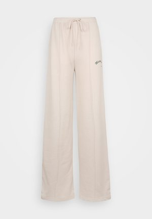 WIDE LEG SPORTS CLUB - Tracksuit bottoms - pink