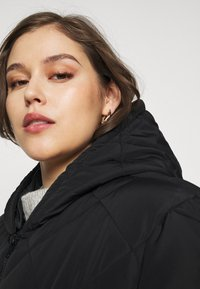 Noisy May Curve - NMFALCON LONG JACKET - Winter jacket - black - 3