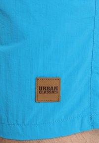 Urban Classics - BLOCK - Swimming shorts - navy/turquoise - 3