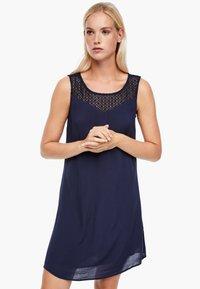 s.Oliver - Day dress - dark blue - 0