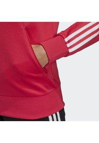 adidas Originals - TRACKTOP - Bombertakki - power pink/white - 7