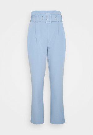 PEG LEG CORNFLOWER TROUSER - Pantalon classique - blue