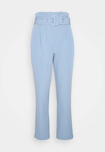 PEG LEG CORNFLOWER TROUSER - Trousers - blue