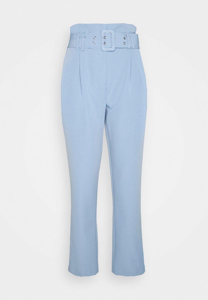 Dorothy Perkins Tall - PEG LEG CORNFLOWER TROUSER - Pantalon classique - blue