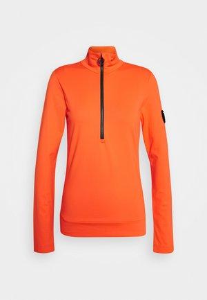 WIEKA - Fleecová mikina - zesty orange