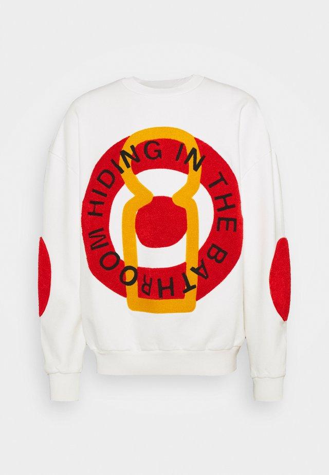BIG CIRCLE  - Felpa - white / red / yellow