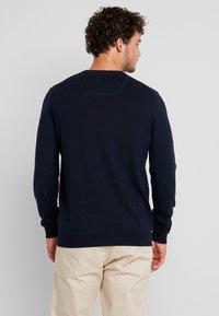 Esprit - Stickad tröja - navy - 2