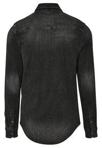 Brandit - HERREN RILEY DENIMSHIRT - Shirt - black - 1