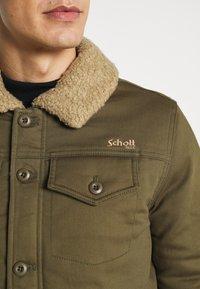 Schott - CRUISER - Light jacket - kaki - 4