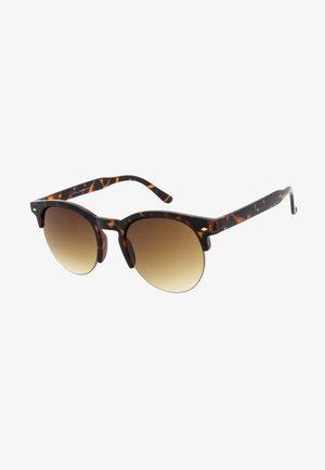 MARTINE - Sluneční brýle - tortoise & matt tortoise