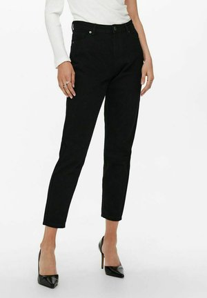 ONLJAGGER LIFE HIGH MOM ANKLE - Jeans Tapered Fit - black