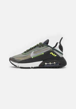AIR MAX 2090 UNISEX - Sneaker low - anthracite/volt/black/newsprint/mystic stone