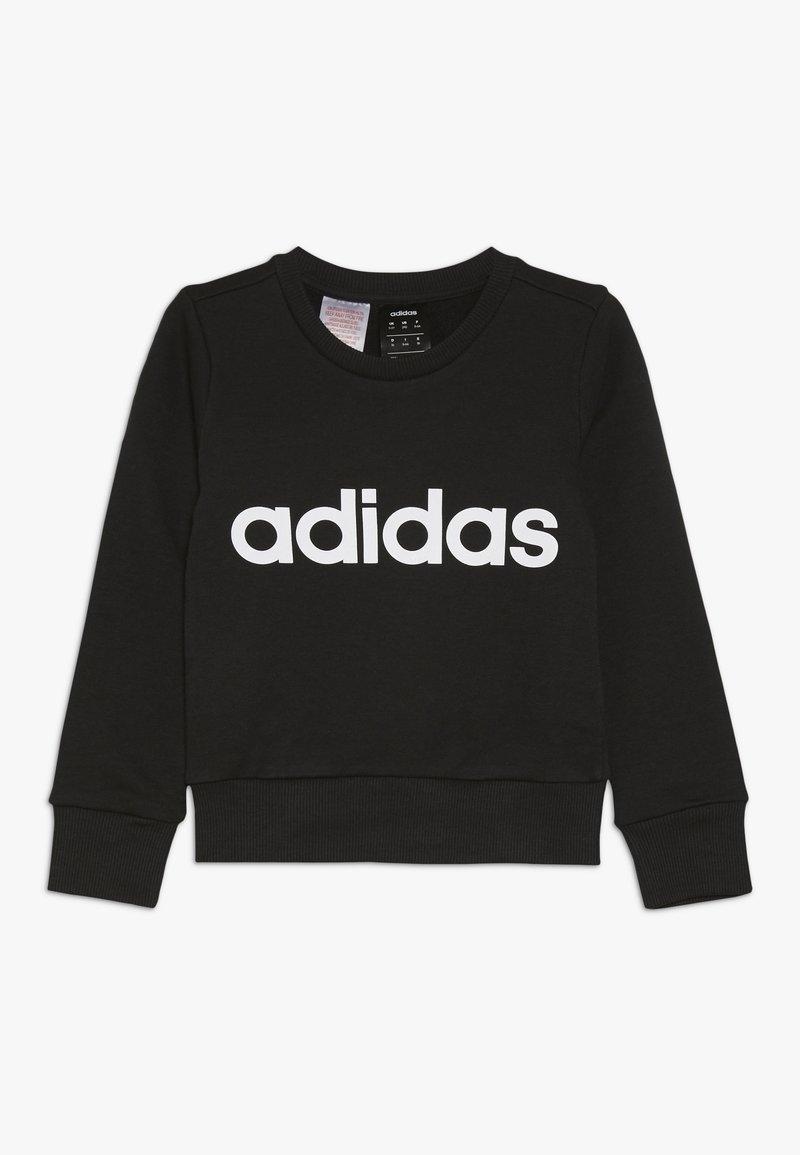 adidas Performance - LIN - Bluza - black/white